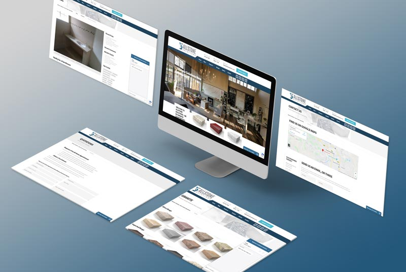 Allstone-Solutions Granite Company Design Isometric Screens