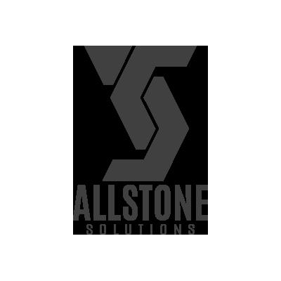 Granite Website Design. Allstone Solutions Logo Grey