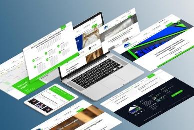 Web-Design-Clients-Isometric-Computer-Screens-Web-Design-Johannebsurg