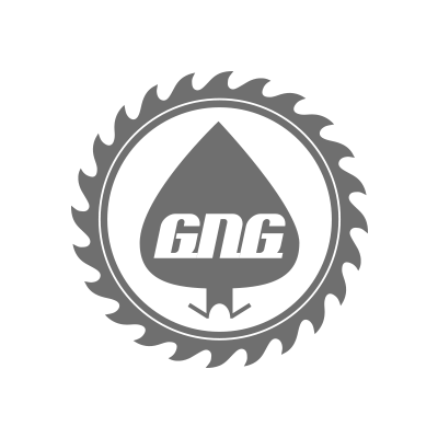 GNG Pine Products Logo in grey