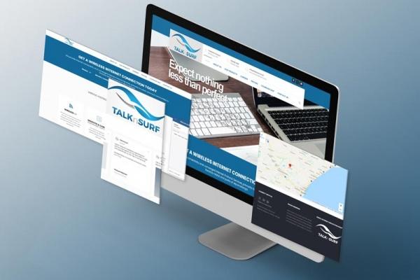Internet Service Provider Isometrics Screens Web Design