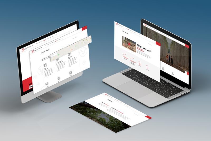 Vuka Timbers - Johannesburg Web Design Screen Isometric