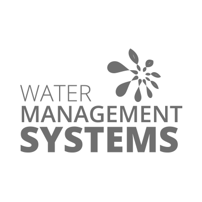 Water Management Systems Logo in grey